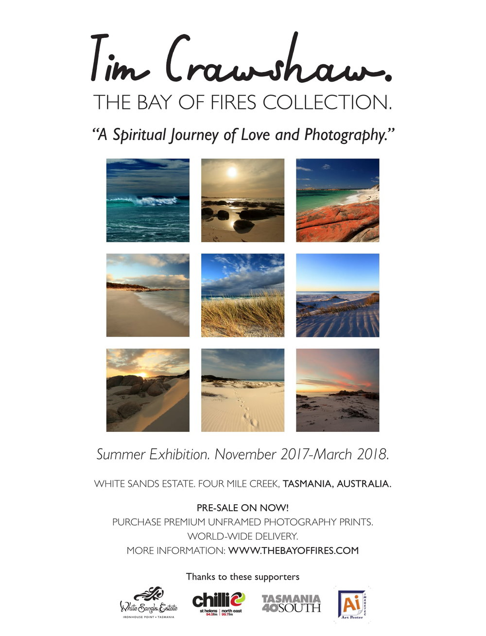 Tim Crawshaw - Bay of Fires Collection Exhibition. White Sands Estate..JPG