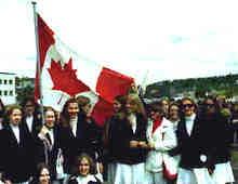 Sr. Elite 1973-74:  Heli Oder , Annette Grot, Margaret Sydlovsky, Sirje Järvel, Linda Makk, Linda Karuks, Merike Toomes, Sarina Westerblom (performed in Finland and Sweden)