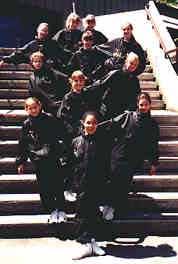 Jr. Elite 1993-94 (coach Janika Mölder): Kristen Lingard, Susanna Wadsten , Lauren