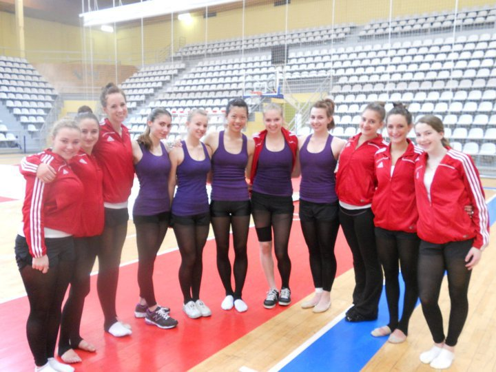 Training day in Spain 2012