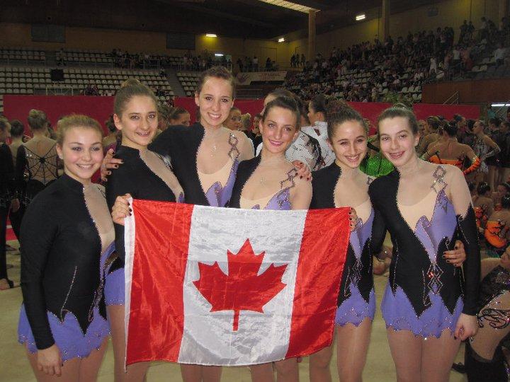 We always love representing Canada