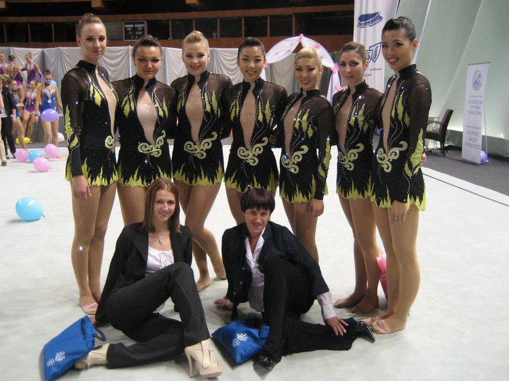 With Alena V.,Stefani Viinamae,Katia Kharlip,Sasha Lukashova,Esther Chi, Diana Kwon,Alla Kosheleva,Dora Yudeikinand Rosanna Tso. 2013