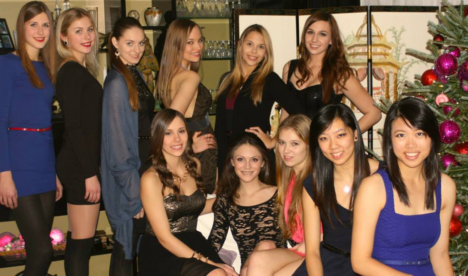 Kalev Gymnasts at the annual Christmas party