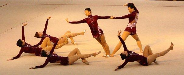 Dora Yudeikin , Esther Chi , Katia Kharlip , Diana M Kwon , Rosanna Tso and  Stephanie Koop competing at Miss Valentine