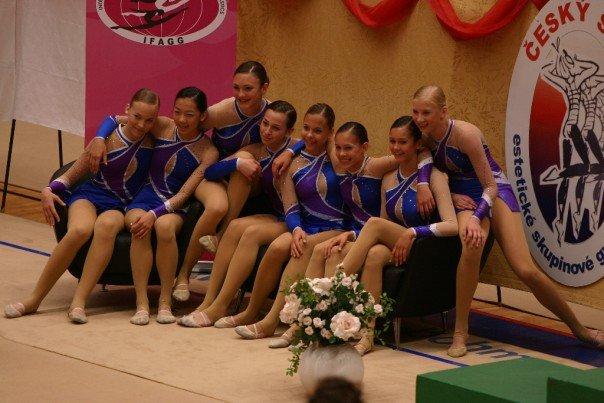 World Cup in Czech Republic — with Kerstin Koop, Katriina Isberg , Esther Chi , Christina Koop, Ashley J. Hassard , Nina Dobrev, Dasha  Lukashova ,  Stephanie Koop .
