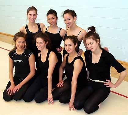 AGG Gymnasts at training