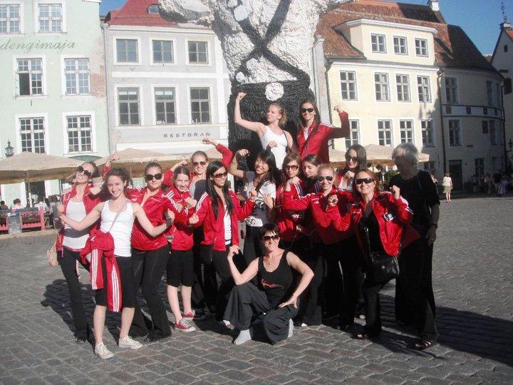 Kalev Gymnasts in Estonia