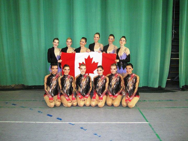 Two of Kalev's teams representing Canada in Estonia
