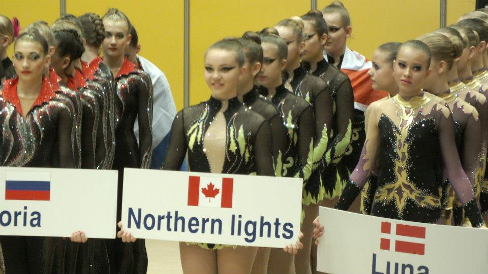 """""""Northern Lights"""" team competing in Sofia, Bulgaria"""