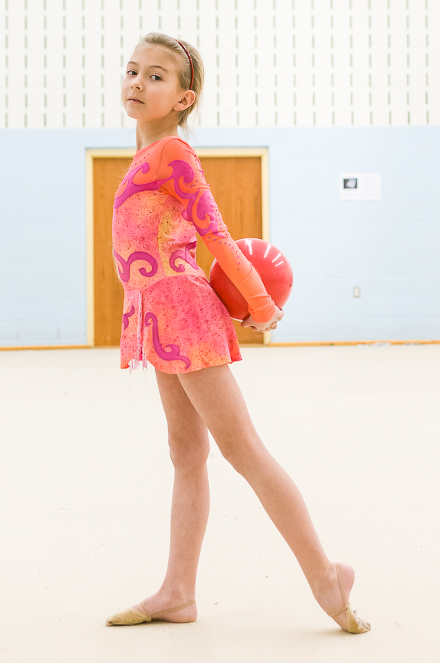 Bianca - Kalev Provincial Gymnast - Level II