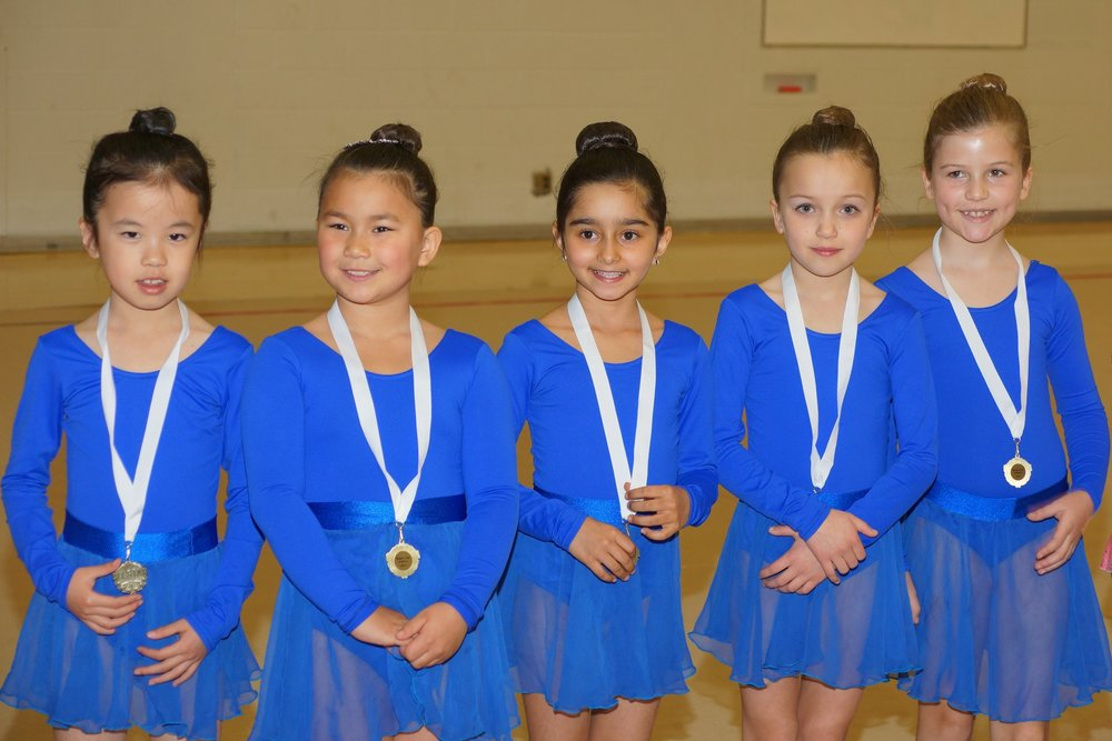 Team A.N.T. at the Kalev Cup, coached by Diana Kwon