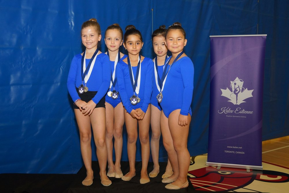 Highlight from 2017 Kalev Cup - A.N.T. RG Club Coached by Diana Kwon