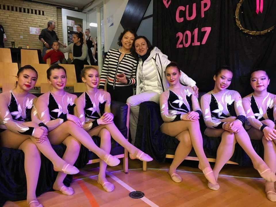 AGG Junior Team 'Canadiana' in Denmark