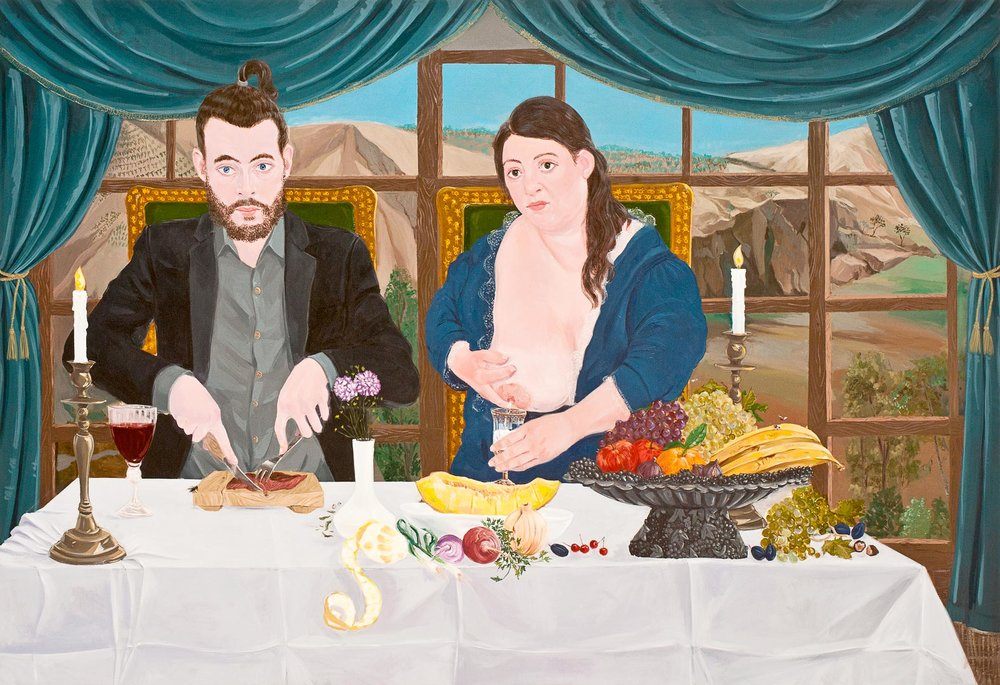 The Fare I, 210x145cm , oil on canvas, 2011  (Private Collection)