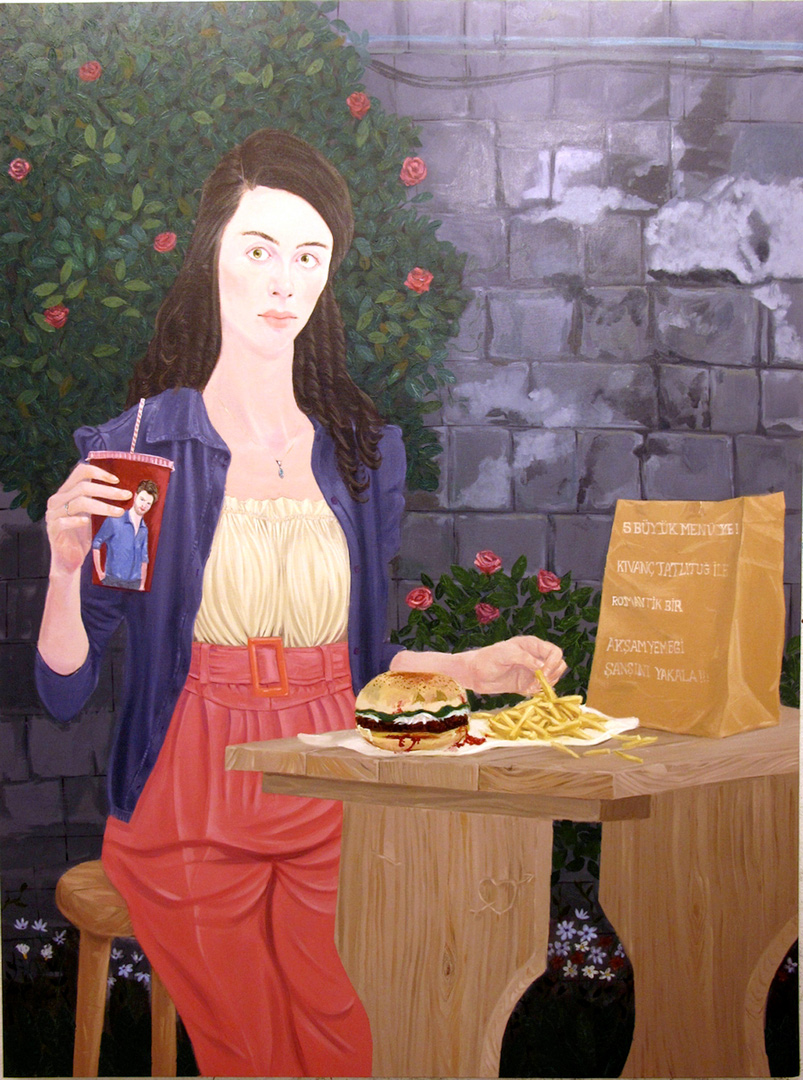 The Fare II, 190x140cm , oil on canvas, 2011  (Private Collection)