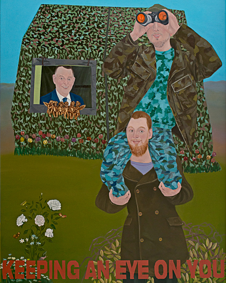 Save Me with Your Fire IV, 210x160cm, oil on canvas, 2012