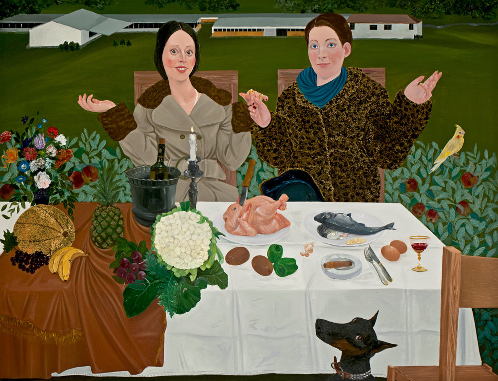 The Fare V, 160x210cm , oil on canvas, 2011  (Private Collection)