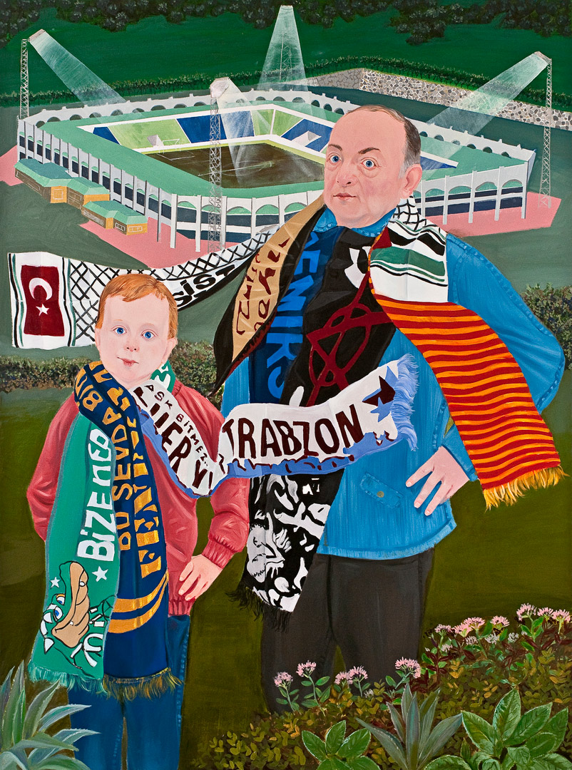 Inheritance Passes From Father to Son VI, 190x140cm, oil on canvas, 2011  (Private Collection)