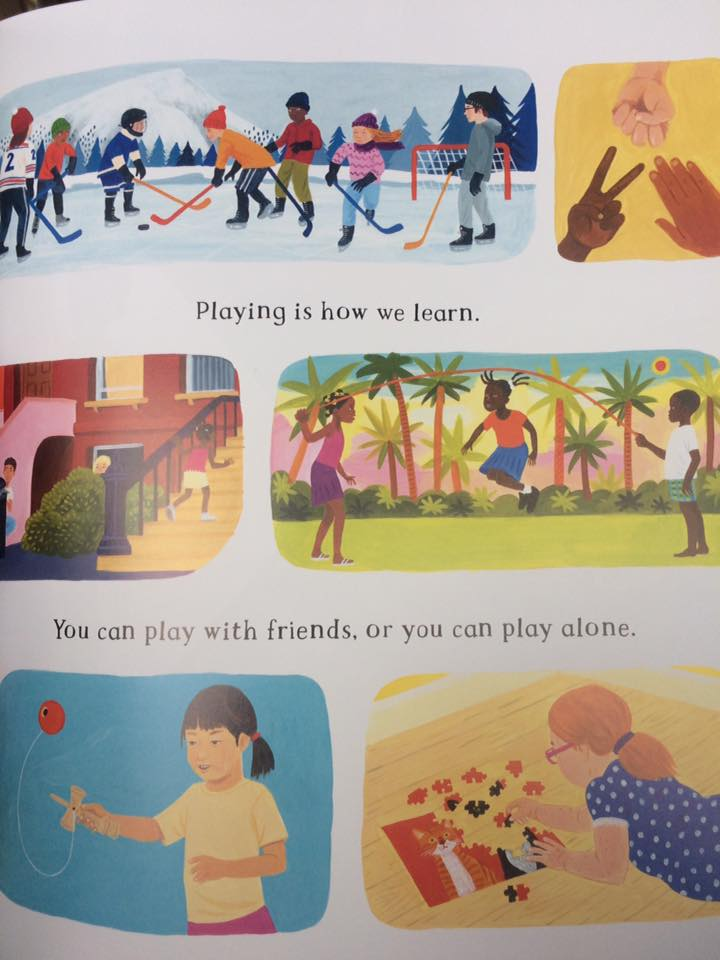 A global perspective on learning through play as exemplified by The Barefoot Book of Children.