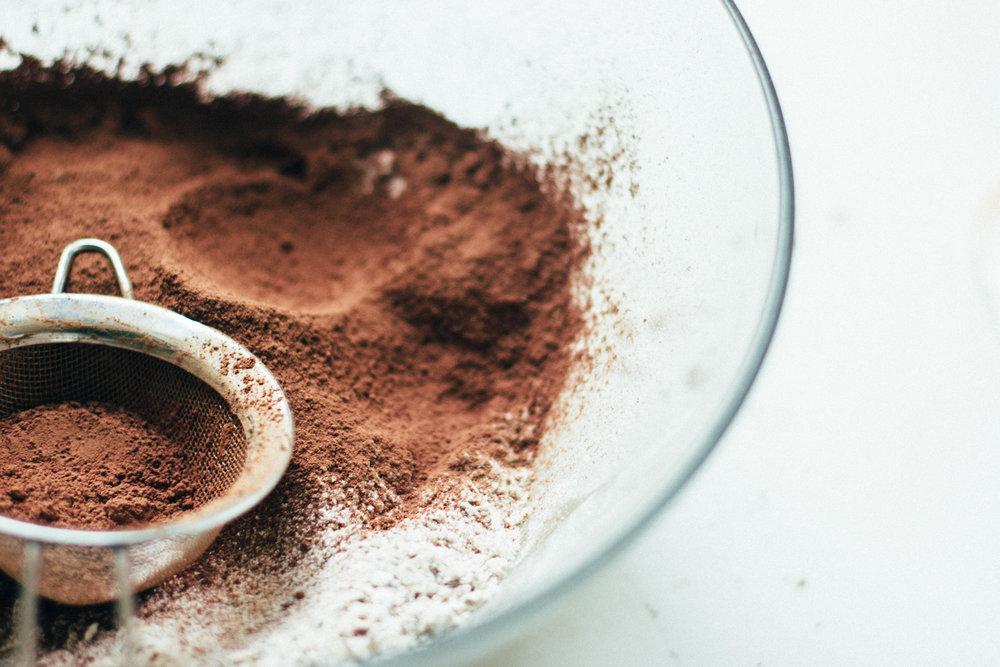 chocolate + cherry rye oatmeal cookies