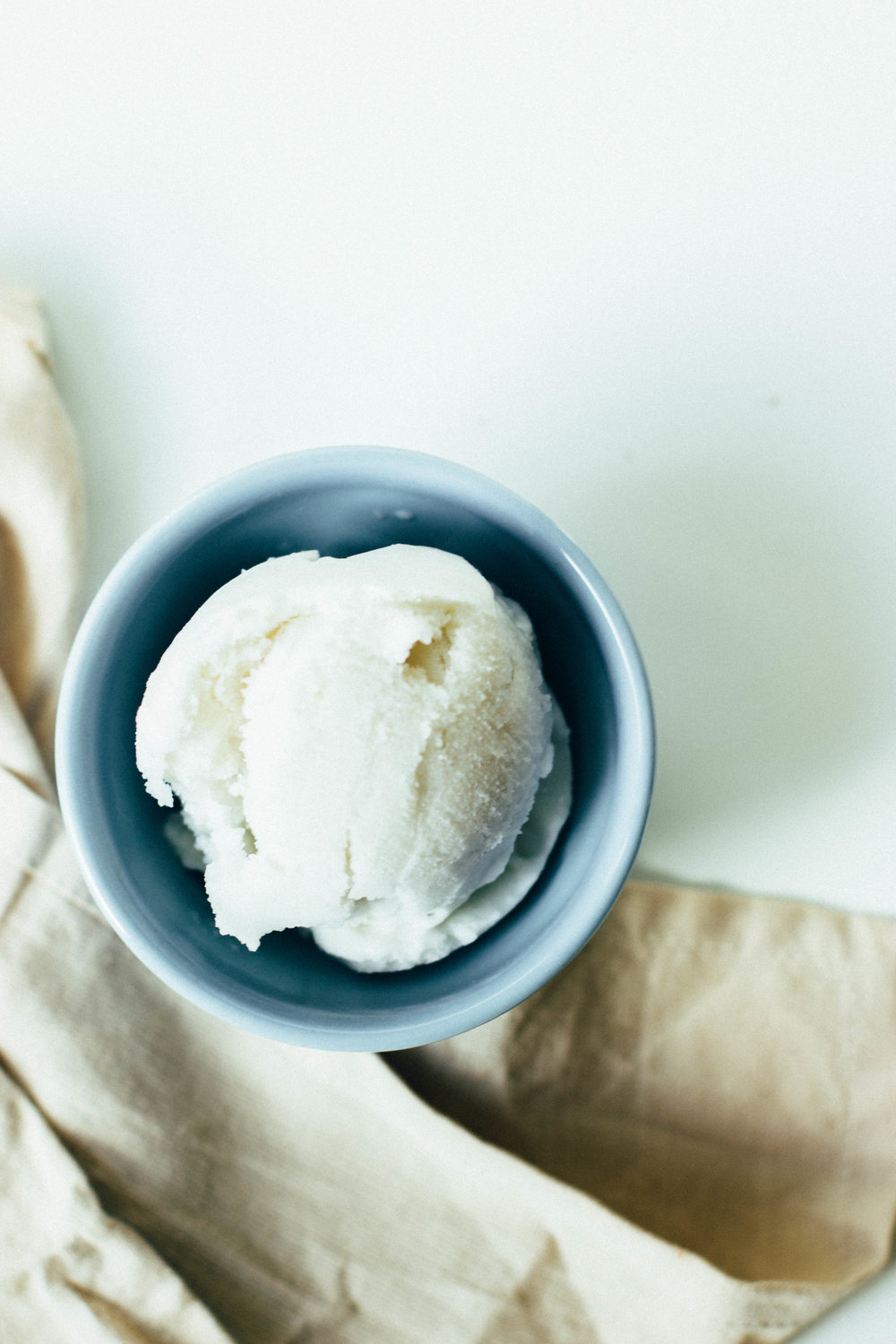 dairy free, honey sweetened coconut + cardamom ginger ice cream (anti-inflammatory)
