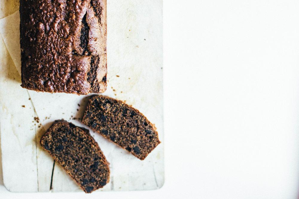 mocha-chip loaf