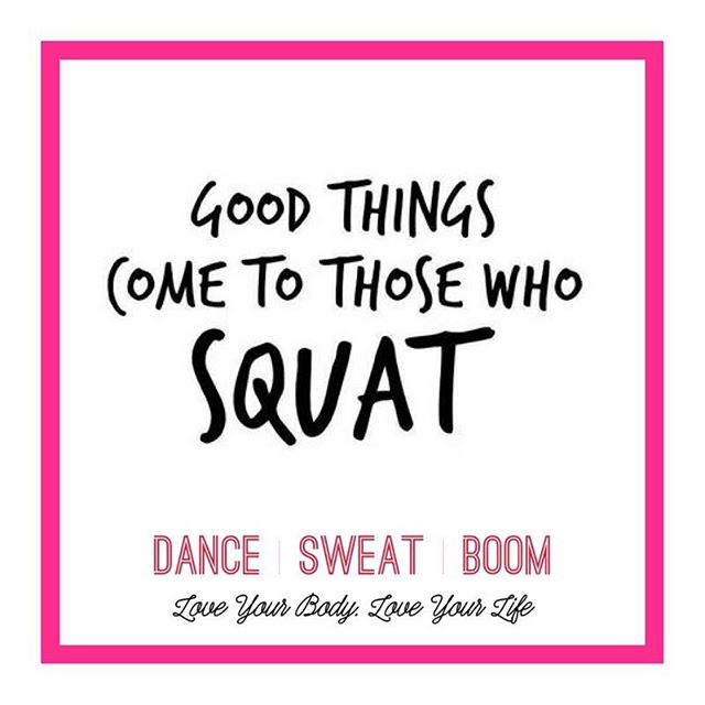 Good things come to those who squat! Join us tonight for BOOM Sculpt at 5pm or Burlesque BOOM at 7pm at @dancecodestudio or at 6:45pm for Burlesque BOOM at @sculptbarresouth. . #burlesqueboom #dancesweatboom #burlesque #fitness #yegfitness #yegfit #yegburlesque #yegdance #yeg #squats #girlswhosquat