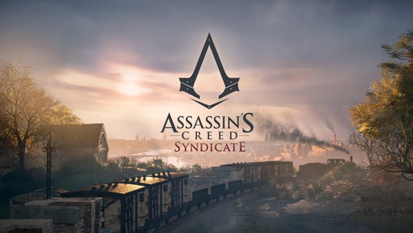 The title screen in Assassin's Creed: Syndicate, the 9th console release (sorta) in the series. This game takes place in Victorian England. Credit: Ubisoft