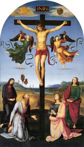 The Mond Crucifixion by Raphael uses two types of oil on different elements to preserve colour and paint film. And the effect still lasts after 500 years, eh?