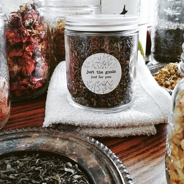 Can't wait to learn about making my own: - drinking tea - facial steam - face mask - bath tea and/or - bath salt . Tomorrow (Sunday) at noon. Still space for you to sneak in and sign up!
