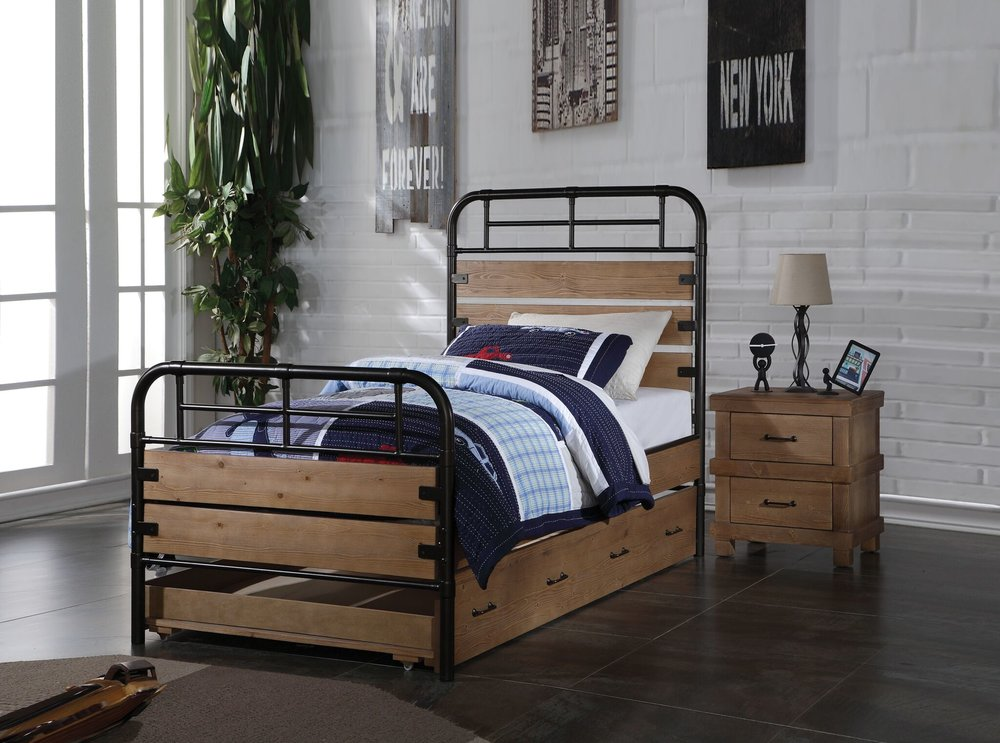 Adams Bedroom Set Twin Size Bed