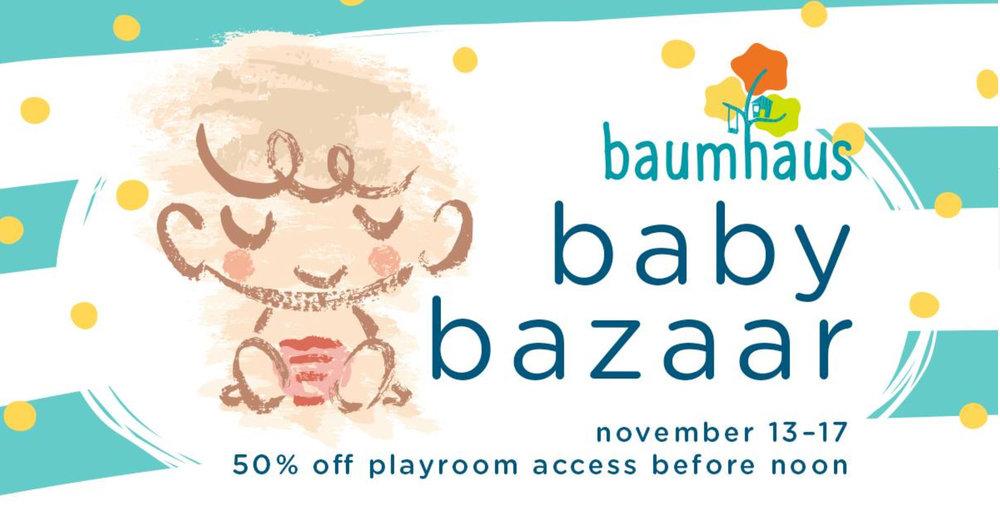 Paper-Roses | Events | Baumhaus Baby Bazaar November 2017