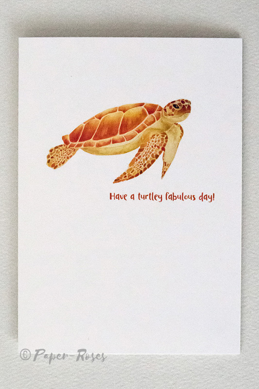 Paper-Roses | Greetings Cards | Turtley fab day card