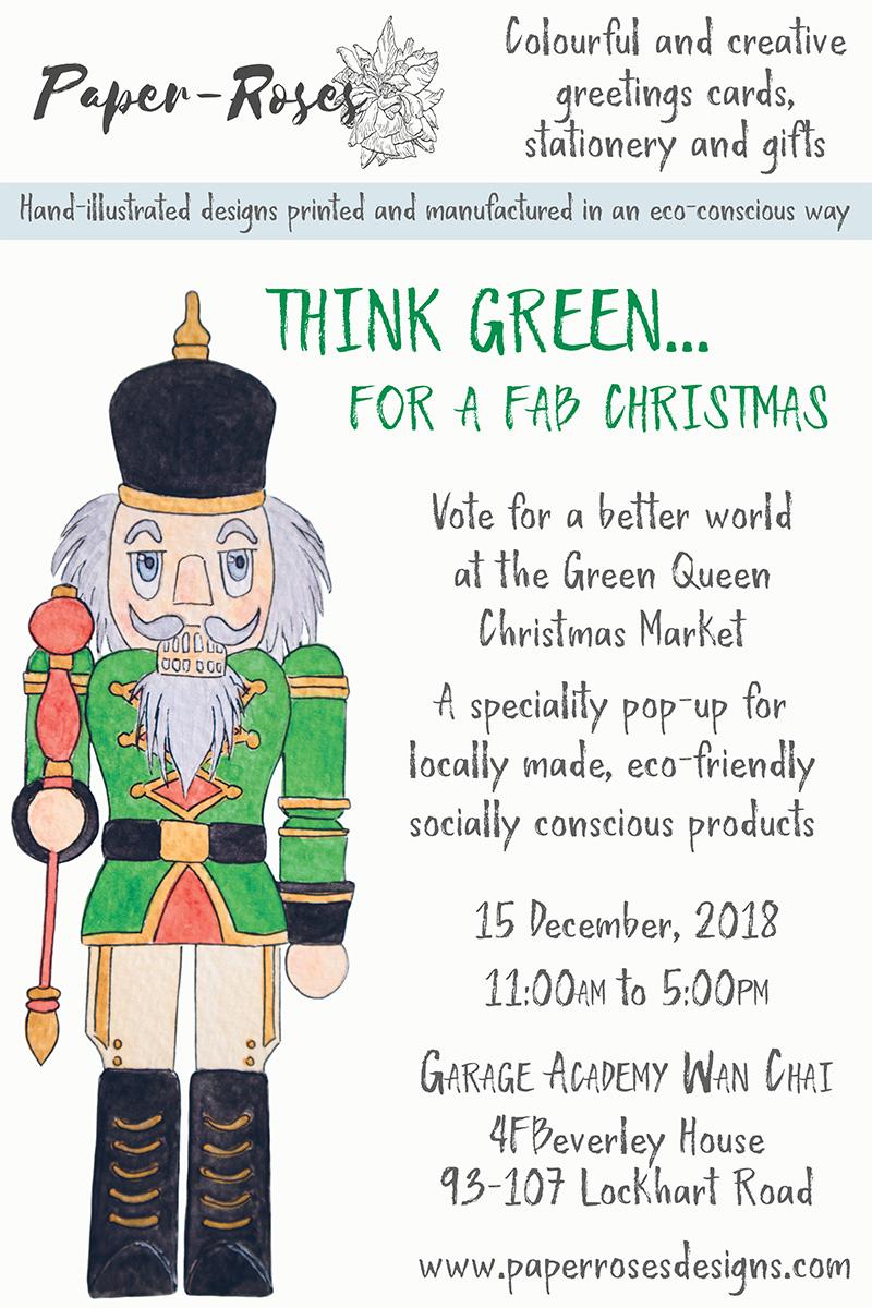 Paper-Roses | Events | Green Queen Christmas Market | 15 December 2018