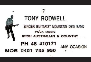 Tony Rodwell
