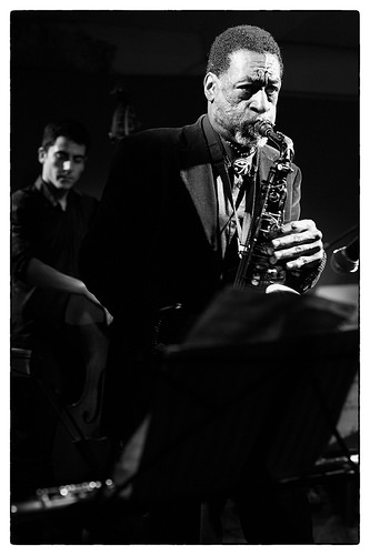 with KNOEL SCOTT live at cafe OTO   2016