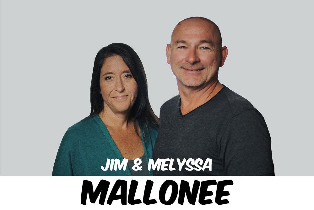 JIM & MELYSSA MALLONEE