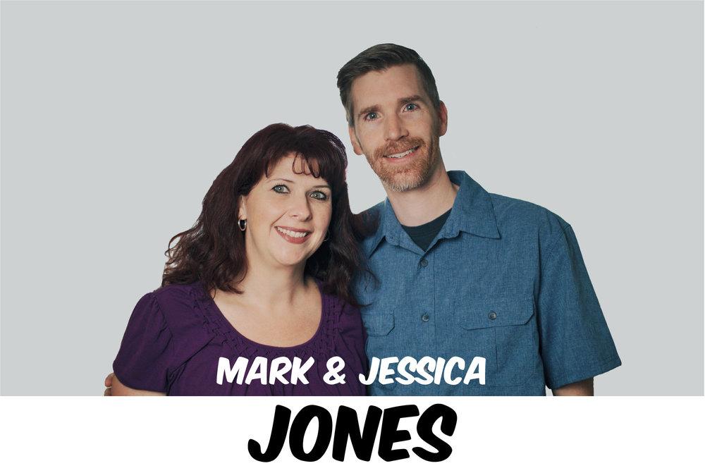 MARK & JESSICA JONES