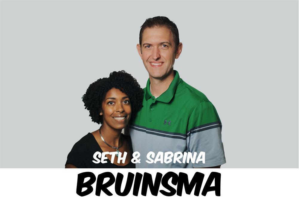 SETH & SABRINA BRUINSMA