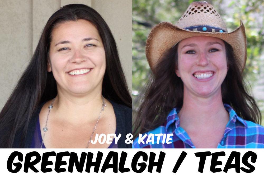 JOEY GREENHALGH & KATIE TEAS