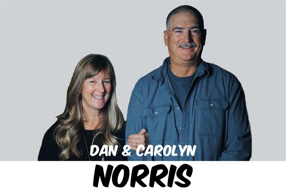 DAN & CAROLYN NORRIS