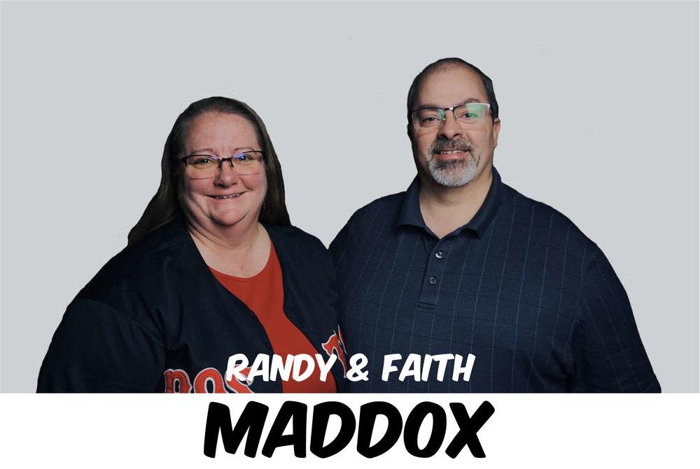 RANDY & FAITH MADDOX