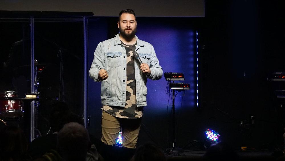 Pastor Austin Molt -