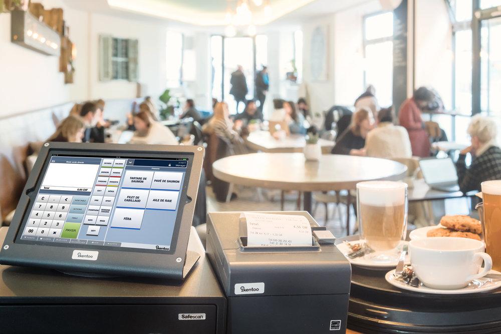 caisse enregistreuse iPad iKentoo - leader France et Suisse