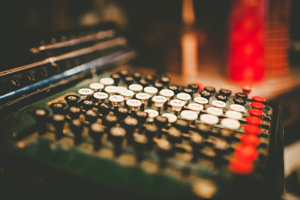 old-cash-register-keys
