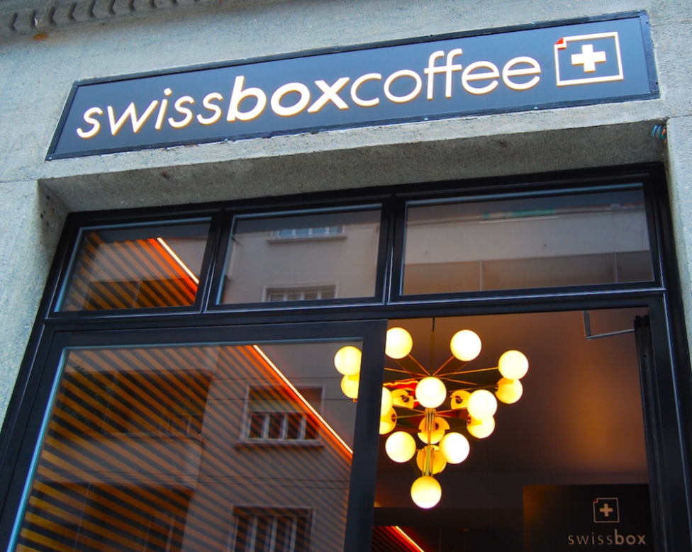 Le swissbox coffee à Genève