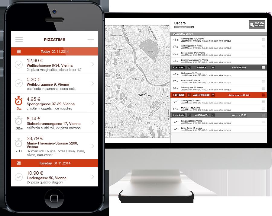 Suivi de commandes et application mobile pour les livreurs