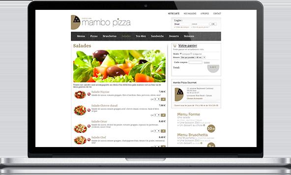 Un site de commande en ligne E-Commerce réalisé avec LivePepper
