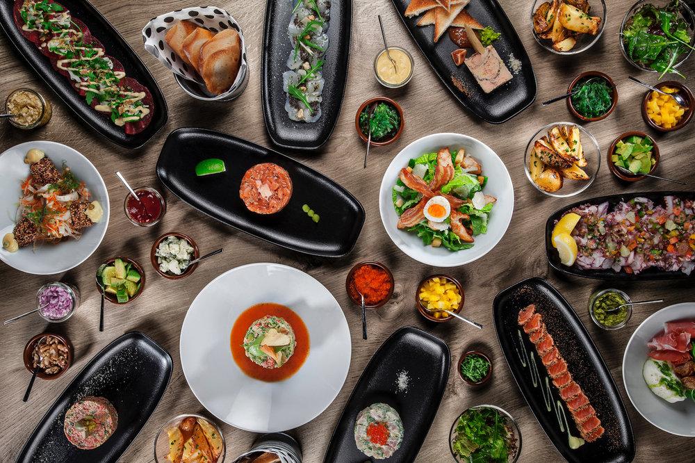 Délicieuses créations culinaires par Tartares & Co