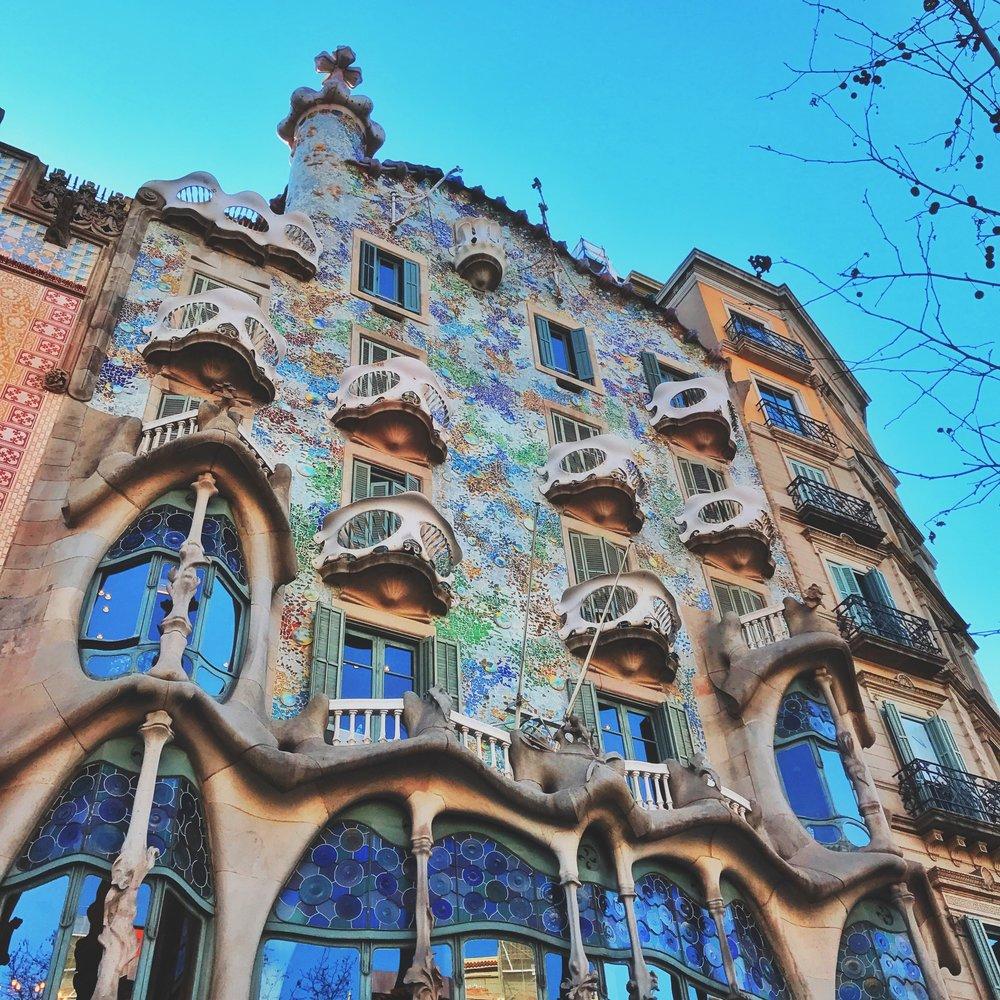 Gaudi's Casa Batllo